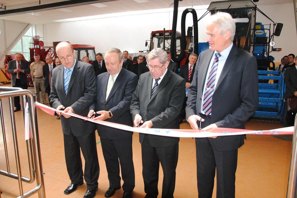 Otwarcie Centrum Szkoleniowego Robota Udojowego DeLaval VMS
