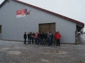 Studenci z wizytą w gospodarstwie mleczarskim