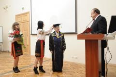 Honorowy Profesor Uczelni w Kijowie - 2011