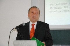 Jubileusz 70-lecia Janusza Fryderyka Sztybera – 20100928