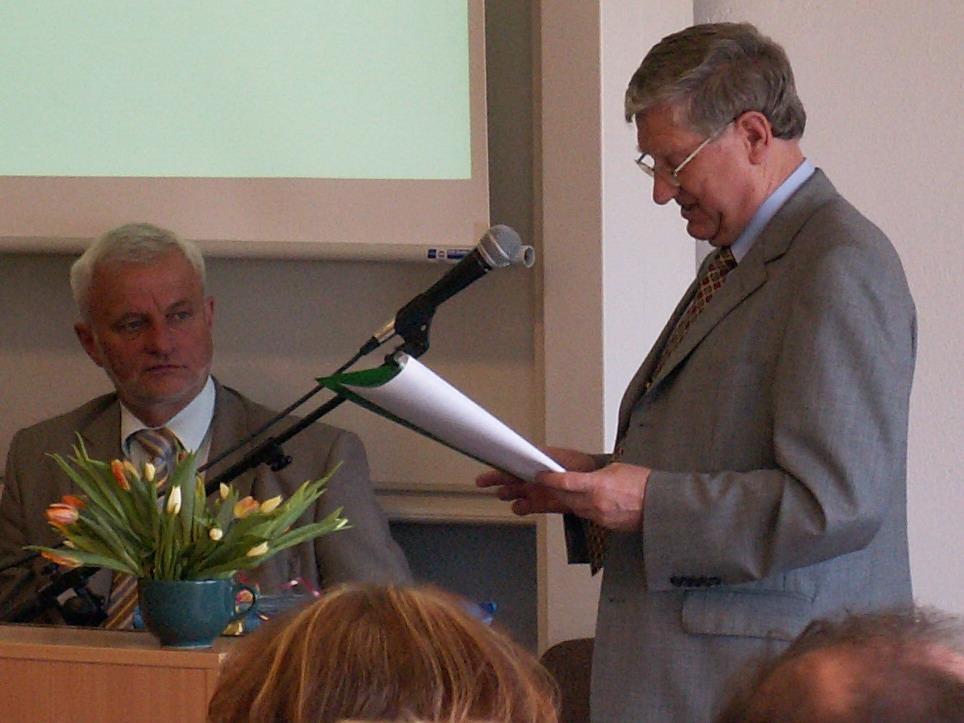 Jubileusz 70-lecia Profesora Jerzego Wiêsika