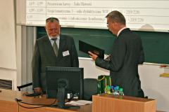 Jubileusz 70-lecia urodzin prof. Alojzego Skrobackiego - wrzesień 2009