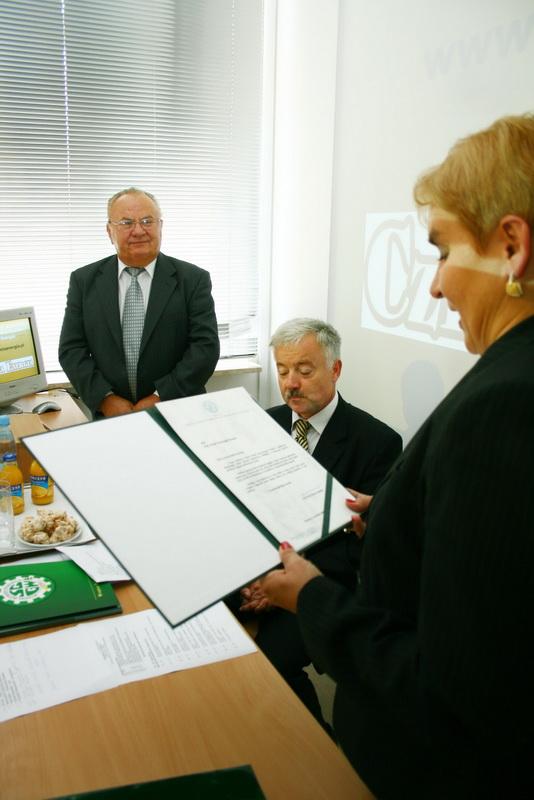 Jubileusz prof. F.Krawca