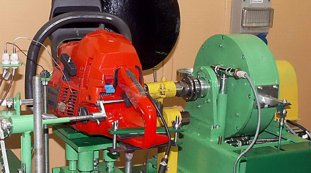 Laboratorium badań silników spalinowych małej mocy