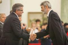Nadanie tytułu profesora Jerzemu Michalskiemu