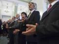 Nadanie tytułu Profesora Jerzemu MIchalskiemu. Fot. Wojciech Grzedzinski/KPRP. Zdjęcie pochodzi z oficjalnego serwisu fotograficznego Kancelarii Prezydenta RP