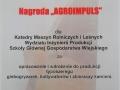 """Nagroda """"AGROIMPULS"""" dla Katedry Maszyn Rolniczych i Leśnych"""