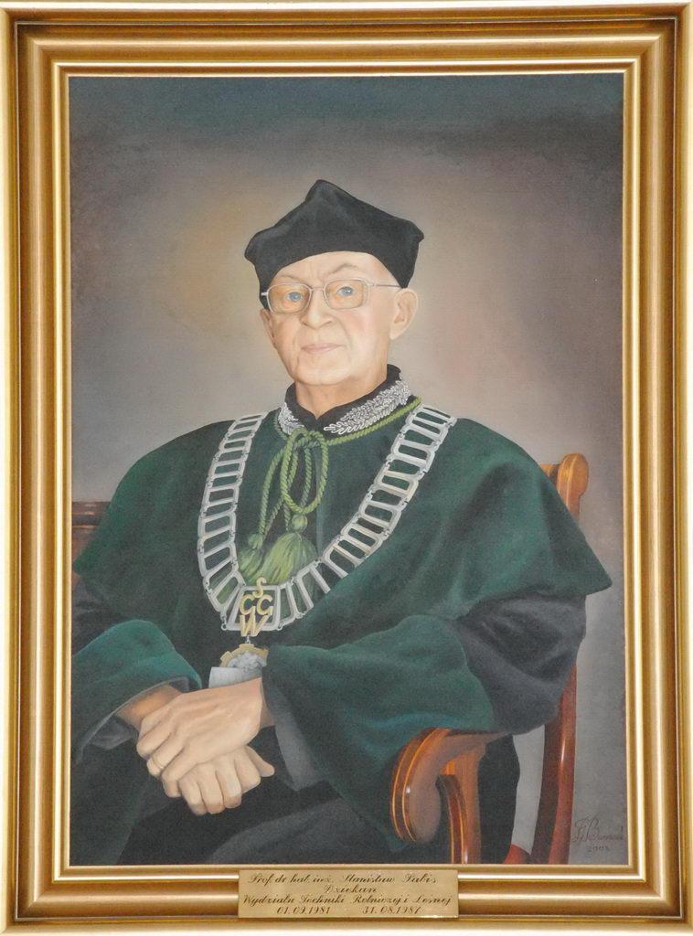 prof. dr hab. inż. Stanisław Pabis