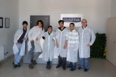 Wizyta w Global Fish - wrzesień 2014