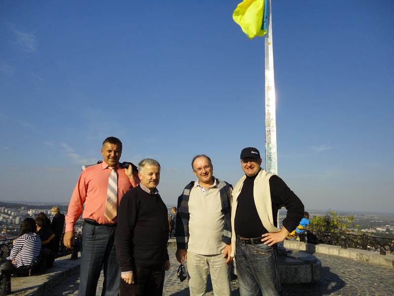 Wizyta w Uniwersytecie Rolniczym w Dublianach (Lwów) – wrzesieñ 2010