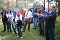 Zajęcia terenowe w N-ctwie Gidle - kwiecień 2010