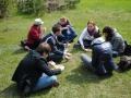 Zajęcia terenowe studentów w Nadleśnictwie Gidle