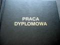 Praca dyplomowa - okładka