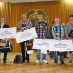 VI edycja Konkursu o BHP Dnia 24 kwietnia 2014r. na Wydziale Inżynierii Produkcji odbył się finał VI Ogólnopolskiego Konkursu Wiedzy o Ergonomii i Bezpieczeństwie Pracy w Rolnictwie