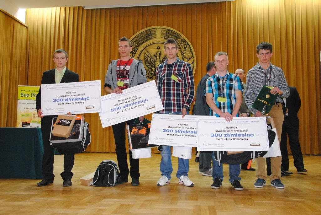 VI Ogólnopolski Młodzieżowy Konkurs Wiedzy o Ergonomii i Bezpieczeństwie Pracy w Rolnictwie