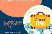 Konkurs na plakat promujący Erasmus+