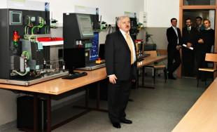Otwarcie Laboratorium Sterowania Systemów Produkcji