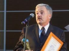 """Tytuł """"Promotora Energetyki Odnawialnej"""" dla prof. dr hab. Andrzeja Chochowskiego"""