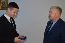 Kolejny egzamin dyplomowy studenta z Ukrainy w ramach porozumienia o podwójnym dyplomie