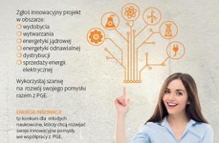 Energia Innowacji – konkurs grupy PGE
