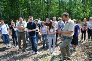 Zajęcia terenowe w Nadleśnictwie Gidle – czerwiec 2011