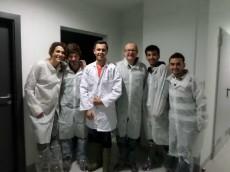 Wizyta zagranicznych studentów w zakładach Global Fish