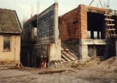 Budowa Katedry Maszyn Rolniczych i Leśnych