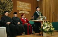 Uroczysta  Wydziałowa Inauguracja roku akademickiego 2010/11