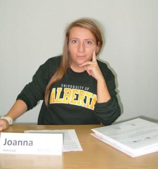 """Doktorantka WIP Joanna Aleksiejuk uczestnikiem kursu szkoleniowego """"regular soft-skills course"""" na University of Alberta w Kanadzie"""
