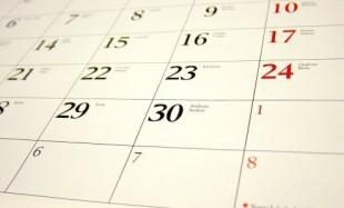 Organizacja roku – trzy wtorki w tygodniu (odrabianie zajęć)