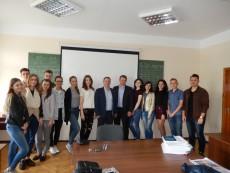 Wizyta dr inż. Jacka Skudlarskiego na Uniwersytecie w Kijowie