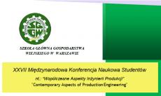 Zaproszenie na Dni WIP 2018 oraz XXVII Międzynarodową Konferencję Studentów
