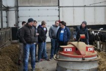 Studenci TRiL wizytowali gospodarstwo mleczarskie w miejscowości Korabie k. Sokołowa