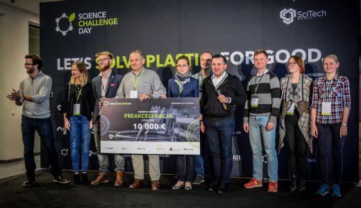 Nagroda główna w konkursie Science Challenge Day