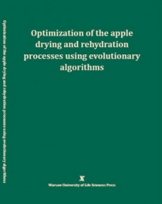 Optimization of the apple dying and rehydration processes using evolutionary algorithms
