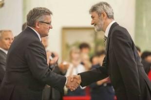 Nominacja na profesora nauk technicznych dla Jerzego Michalskiego z Wydziału Inżynierii Produkcji