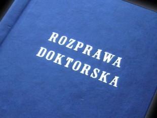 mgr inż. Piotr Skowroński – rozprawa doktorska