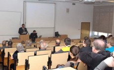 Wykład doc. dr Volodymyra Reshetiuka z Uniwersytetu Przyrodniczego w Kijowie