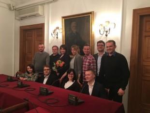 Doktorant z Wydziału Inżynierii Produkcji Przewodniczącym Warszawskiego Porozumienia Doktorantów