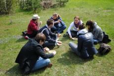 Zajęcia terenowe w Nadleśnictwie Gidle – kwiecień 2010